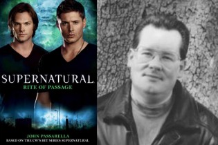 Supernatural: Rite of Passage cover (left) and author John Passarella (right).