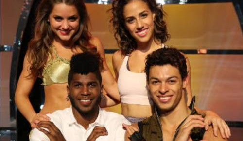 SO YOU THINK YOU CAN DANCE: CW L-R: Top 4 contestants Tiffany Maher, Eliana Girard, Chehon Wespi-Tschopp and Cyrus Spencer on SO YOU THINK YOU CAN DANCE airing Wednesday, September 5 (8:00-10:00 PM ET/PT) on FOX. ©2012 FOX Broadcasting Co. Cr: Mike Yarish
