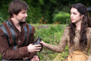 Adelaide Kane and Torrance Coombs in Reign (2013)