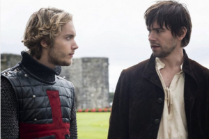 Toby Regbo and Torrance Coombs in Reign (2013)