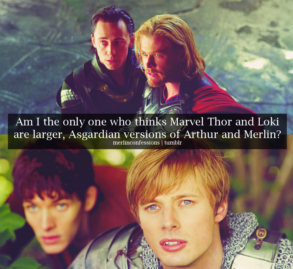 Asgard in Camelot: The similarities of Marvel's Loki & Thor and