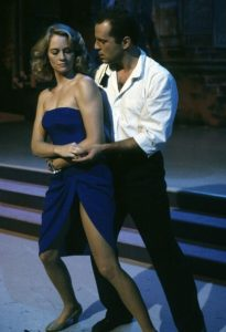 Maddie and David dancing in Moonlighting