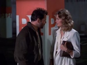 Maddie Hayes and David Addison Kiss Scene in Moonlighting